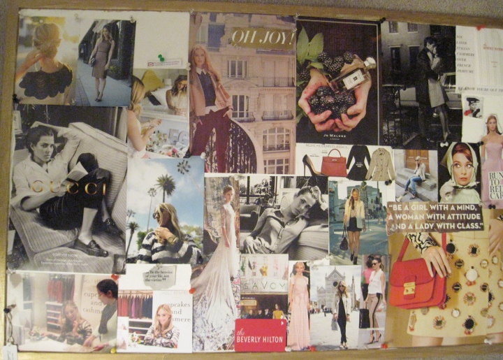champagnemoods.com february mood board