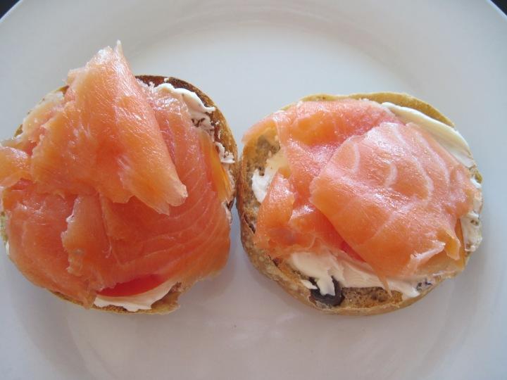 champagnemoods.com smoked salmon sandwich