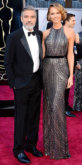 Stacy Keibler - also bringing the sparkle, must say that I am loving this trend