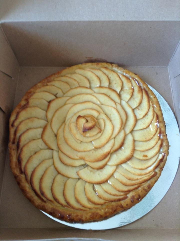 Premiere Moisson tarte aux pommes
