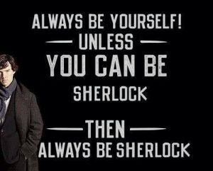 In honour of Sherlock's Emmys last night :)